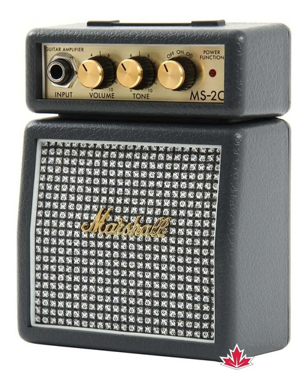 Mini Amplificador Marshall Ms-2c-e Combo Para Guitarra
