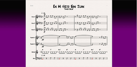 Venta O Cambio De Partituras De Música Ecuatoriana