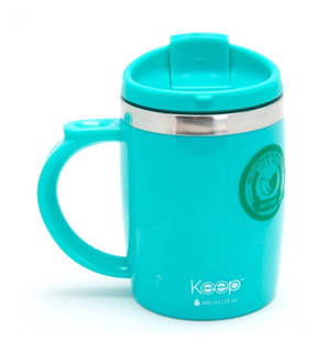 Jarro Mug Termico Keep 400 Ml Acero Inoxidable