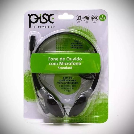 Fone De Ouvido Com Microfone Pisc