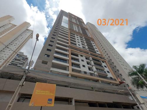 Imagem 1 de 23 de Apartamento À Venda, Setor Marista, Goiânia, Go - Go - Ap0054_insp