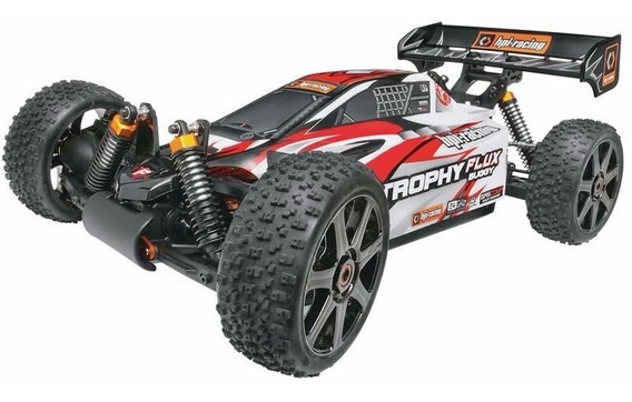 Automodelo Hpi Racing 1/8 Trophy Buggy Flux 2.4ghz + Brind