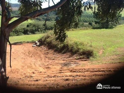 Terreno À Venda, 3500 M² Por R$ 240.000,00 - Condomínio Campo Alegre - Poços De Caldas/mg - Te0183