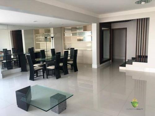 Apartamento Com 4 Dormitórios À Venda, 214 M² Por R$ 1.600.000,00 - Barra - Salvador/ba - Ap1112