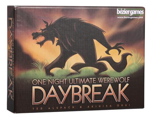 One Night Ultimate Werewolf Daybreak Juegos De Cartas 10 Min