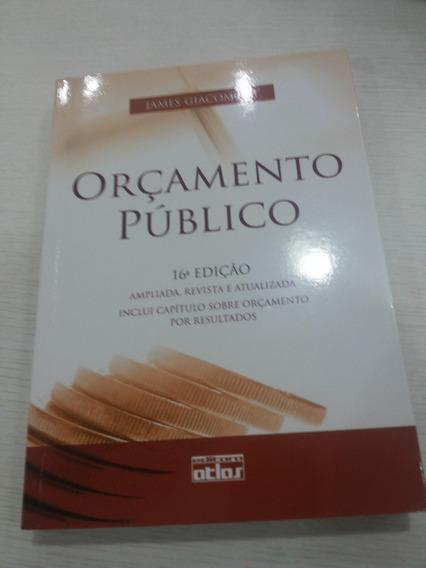 Orçamento Público 16 Edição Giacomoni