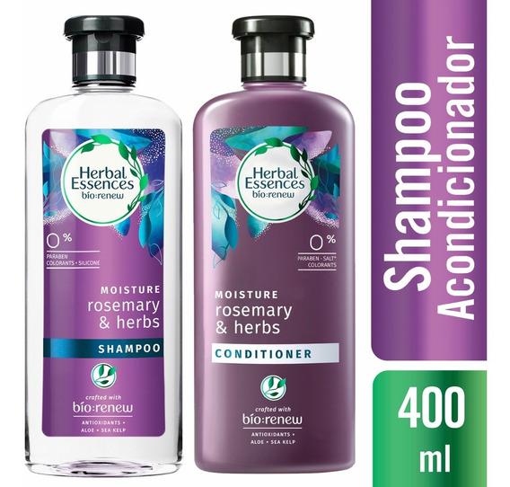 Shampoo Herbal Essences Rosemary & Herbs + Acondicionador