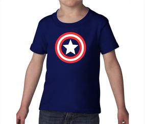 Playera Capitán América Bebé / Niño