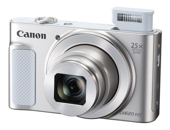 Canon PowerShot SX620 HS compacta prateada