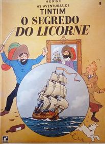 As Aventuras De Tintim O Segredo Do Licorne - Volume 9