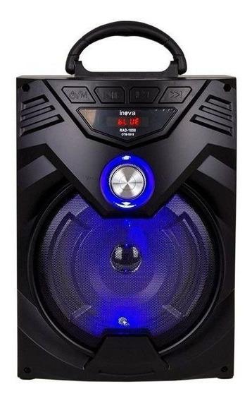 Caixa Som Bluetooth Potente 15w Fm Sd Usb Original Inova