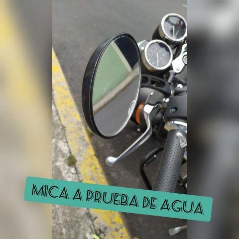 Mica A Prueba De Agua Para Retrovisor De Moto