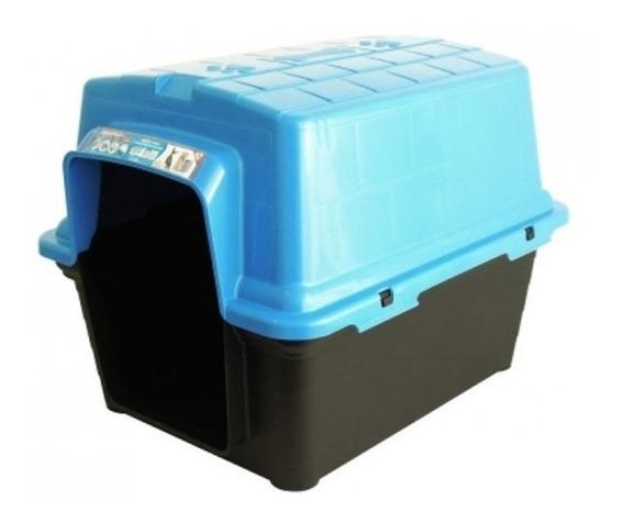 Casinha Para Pet De Plástico N°4 Furacão Pet Azul