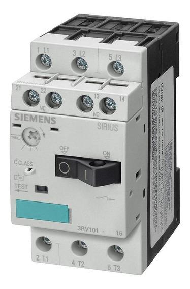 3rv1011-1ja15 Siemens Guardamotor 7 A 10 Amperes S00 C/aux