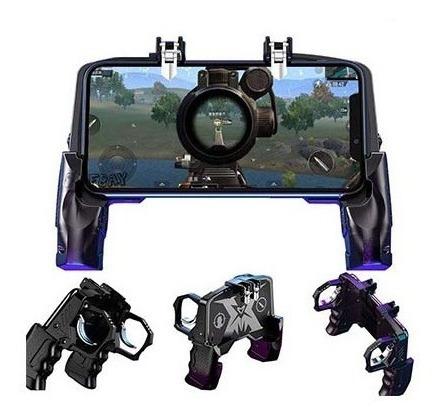 Control Joystick Gatillos Celular Disparar Freefire Pubg Ios