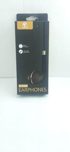 Fone Earphones Kaipitan K-3318