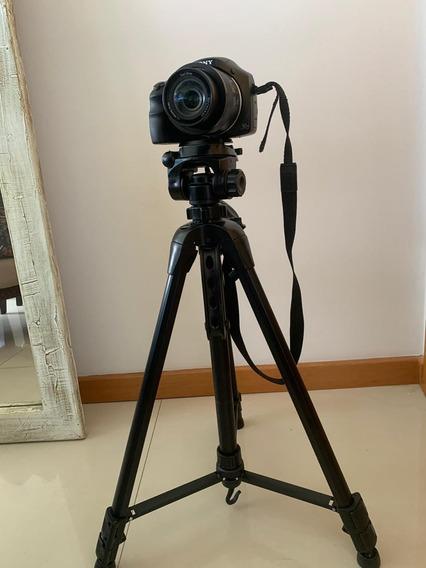 Câmera Sony/ Acompanha Tripé