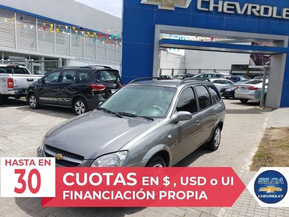 Chevrolet Corsa Wagon 2011 Gris Oscuro 5 Puertas