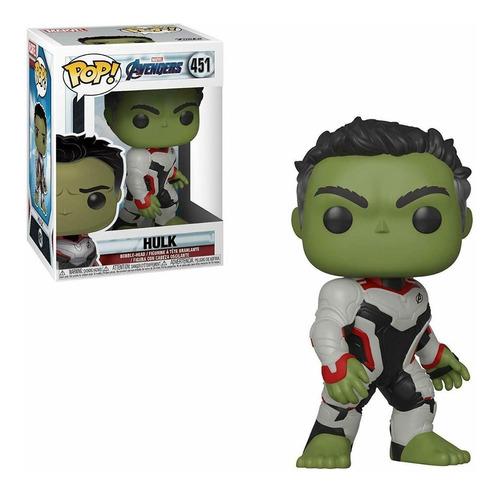 Funko Pop Marvel Avengers Endgame 451 Hulk En Stock