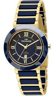 Relógio Technos Elegance Ceramic / Safira 2015ce/5a