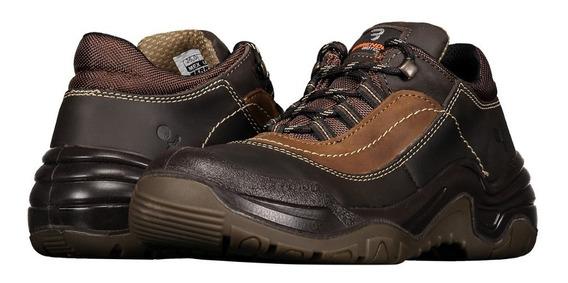 Zapato De Seguridad Dieléctrico Berrendo 3000 Café Unisex