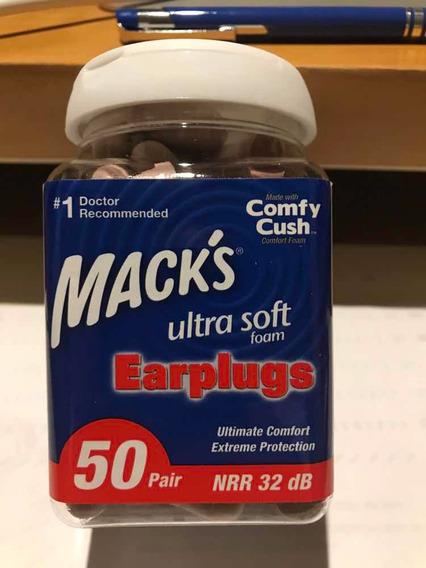 Macks Protetor Auricular ( Earplugs ) Melhor Marca Do Mundo