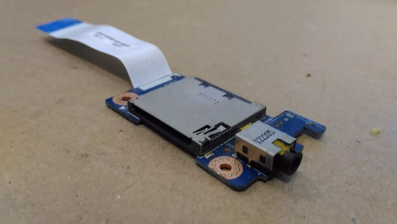 Placa Áudio Sd Card Notebook Lenovo G480 G485