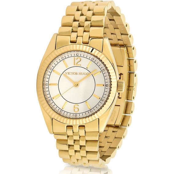 Relógio Victor Hugo Luxo Feminino - Vh10156lsg/04m