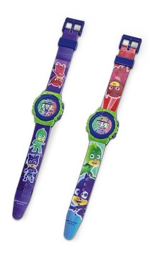 Relógio Digital Infantil Pjmasks- Dtc 4591