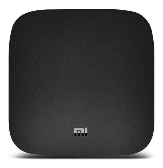 Streaming media player Xiaomi Mi Box de voz 8GB preto com memória RAM de 2GB