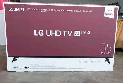 Imagen 1 de 3 de Tv Smart Tv 4k 55 Pulgadas LG