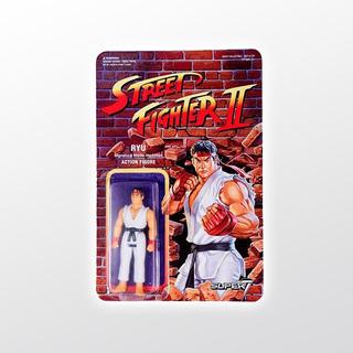 Street Fighter 2 Reaction Ryu Super 7 Tierra Prima