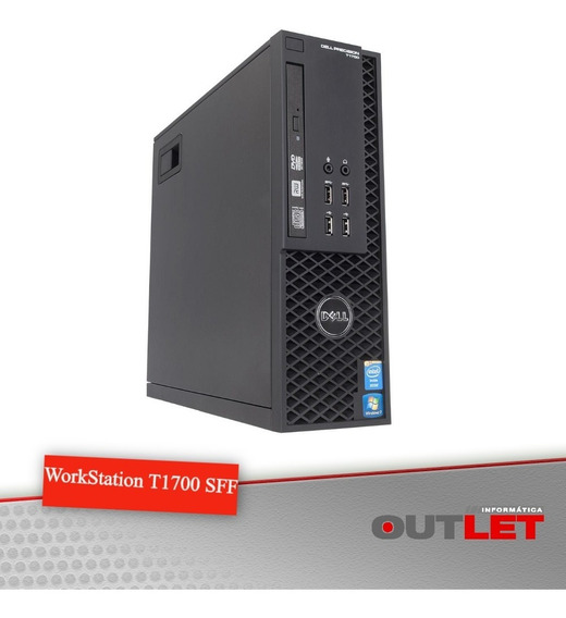 Workstation Dell Precision T1700 Sff Xeon E3-1246v3 3.50 Ghz