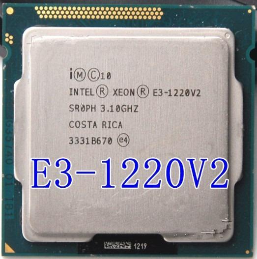 Processador Cpu Intel Xeon E3 1220v2 1155 3,1ghz = I5 6500