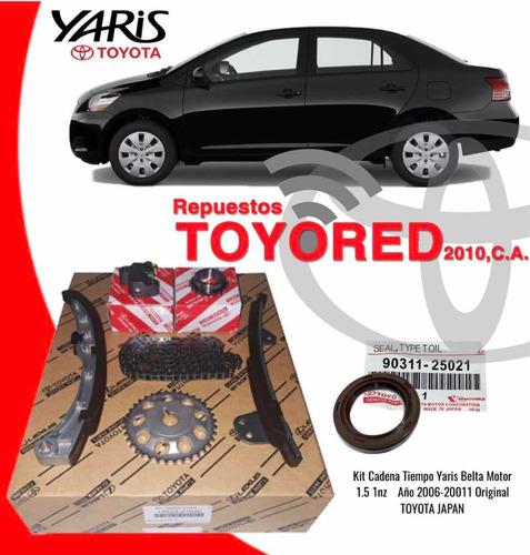 Kit Cadena De Tiempo Para Toyota Yaris Belta 1.5 Original