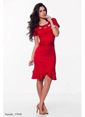 Vestido Moda Evangelica Elegante Cod#xxll