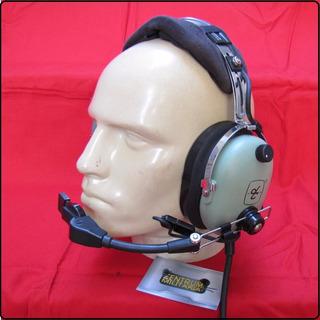 Fone Ouvido David Clark H10-40 Para Avião (2 Plugs)