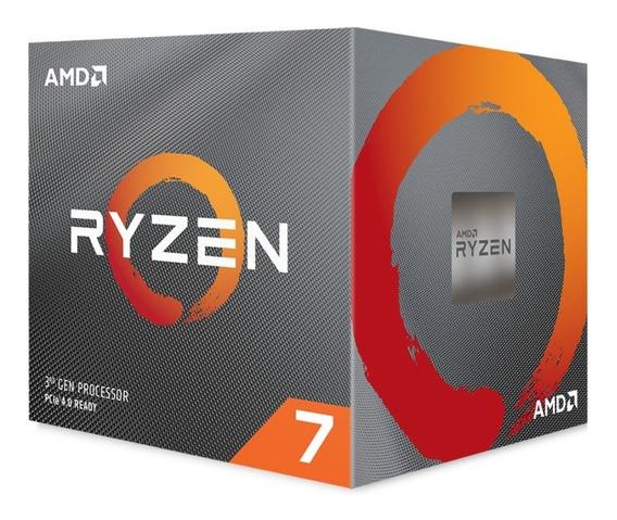 Processador Amd Ryzen 7 3800x 36mb 3.9 - 4.5ghz Am4