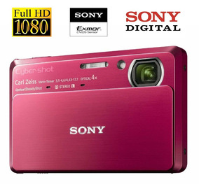 Raridade Sony Dsc-tx7 10.2mp Vermelha Na Caixa Sem Uso Nova!