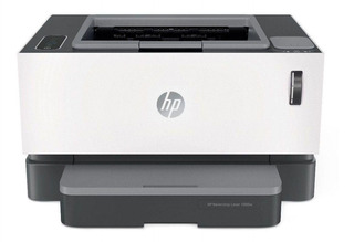 Impresora HP Neverstop 1000W con wifi 110V - 127V blanca y gris