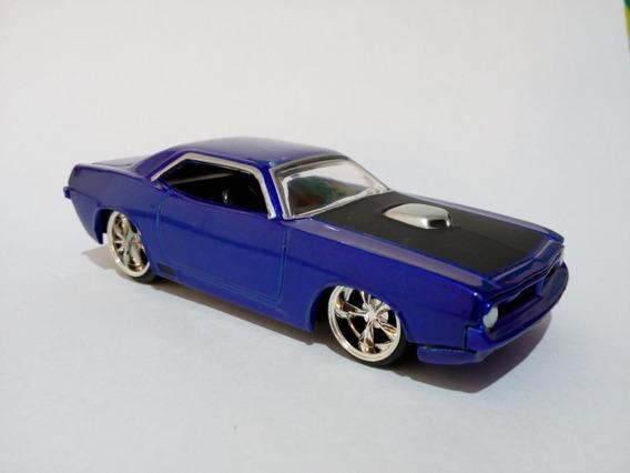 Jada Bigtime Muscle 1970 Hemi Cuda Azul - Loose
