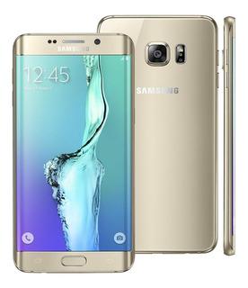 Galaxy S6 Edge Samsung G928a 32gb Dourado Seminovo