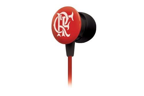 Waldman Sf-10 Super Fan Fone De Ouvido In-ear Do Flamengo