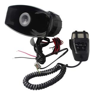 Sirena 212 50w 5 Tonos Con Megafono Motos Autos Policia