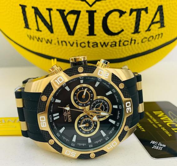 Relógio Invicta Speedway 25835 - Ouro 18k