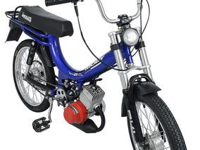 Bicicleta Motorizada Moby 2 Tempos 40cc - Azul