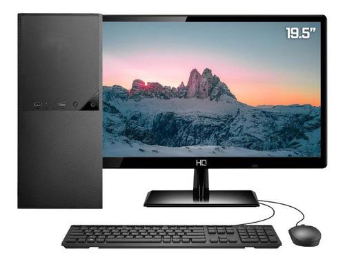 Imagem 1 de 4 de Computador Intel Dual Core 4gb Ssd 240gb Monitor 19 Skill Dc