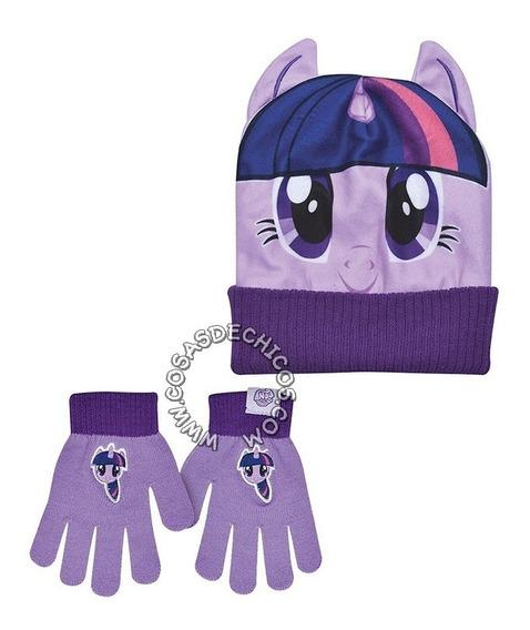 Gorro + Guante De Lana My Little Pony Twilight Sparkle Footy