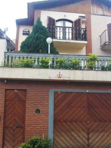 Sobrado Com 3 Dormitórios À Venda, 256 M² Por R$ 980.000,00 - Chora Menino - São Paulo/sp - So0183