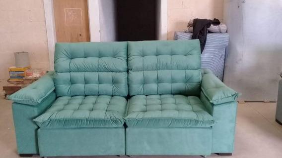 Sofá Retratil & Reclinavel Com Pillow Top